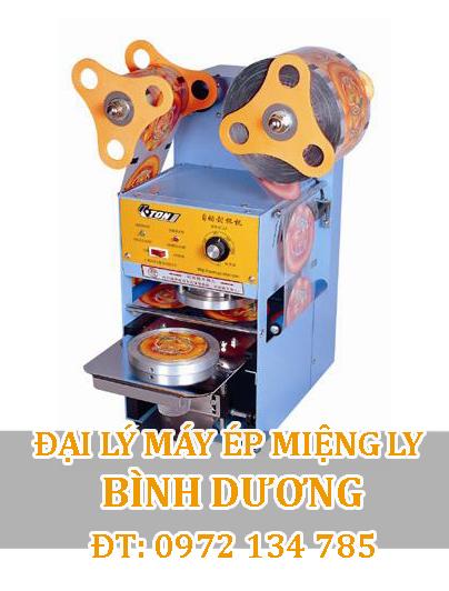 Máy ép miệng ly trà sữa bán tự động Bình Dương Eton® ET-A9