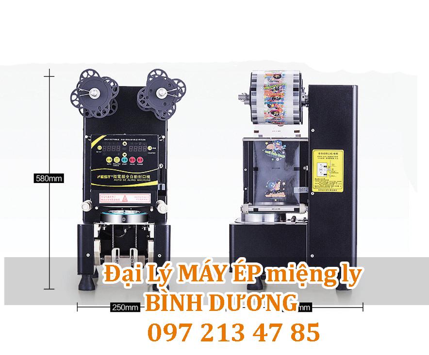 máy ép miệng ly trà sữa tự động Bình Dương FEST® RC-995S
