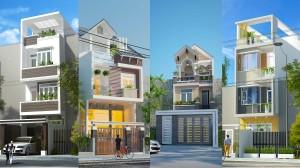 Mẫu Nhà Phố Đẹp 2019-Xu Hướng Cho Năm 2020