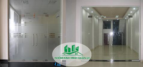 Cửa kính cường lực tại Thuận An bình dương