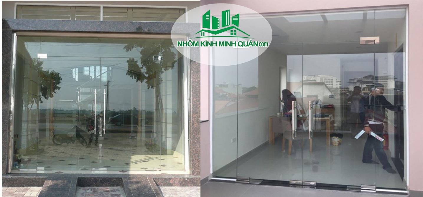 bao giá Cửa kính cường lực tại Thuận An