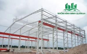 Thi công nhà xưởng tại Thuận An BÌNH DƯƠNG